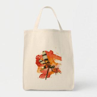 Halloween Pennant Dragonfly Canvas Bag