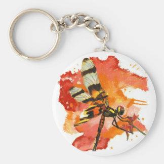 Halloween Pennant Dragonfly Key Chain