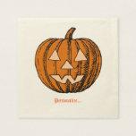 Halloween, personalizado servilleta desechable