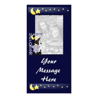 Halloween Personalized Photo Card