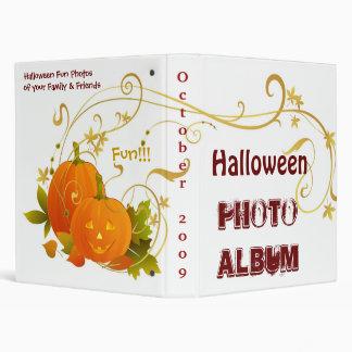 Halloween Photo Album 3 Ring Binders