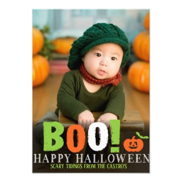Halloween Themed HALLOWEEN PHOTO CARD
