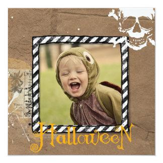 Halloween photo cards custom invitations