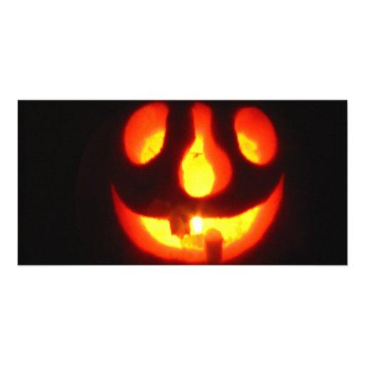Halloween Photo Greeting Card