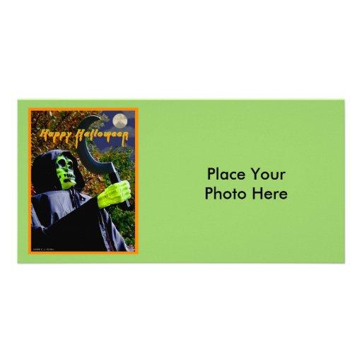 """Halloween"" Photo Greeting Card"
