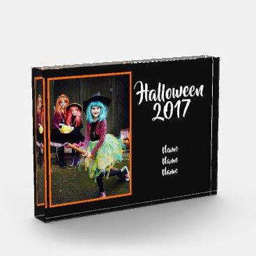 Halloween Themed Halloween Photo Keepsake Acrylic - Halloween /Year
