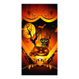 Halloween Photo Card Template