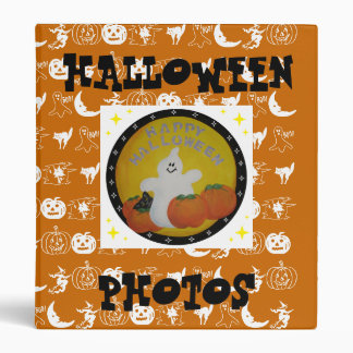 HALLOWEEN PHOTOS BINDER