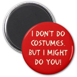 Halloween Pick Up Line Magnet magnet