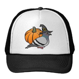 Halloween Pigeon Mesh Hats