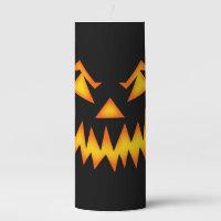 Halloween Pillar Candle