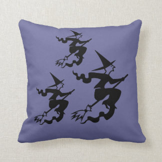 Halloween Pillow Witches