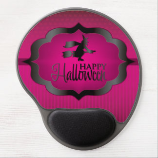 Halloween pink witch gel mouse pad
