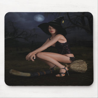 Halloween Pinup Victoria Mousepad