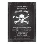 Halloween Pirate Party Invitation