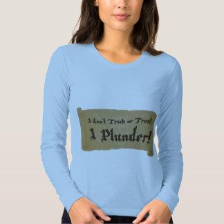 Halloween Pirate Plunder T Shirt
