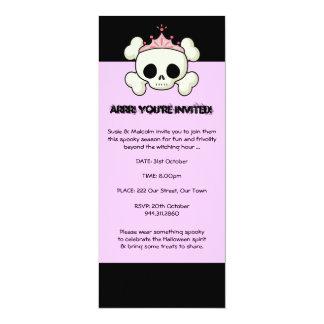 Halloween Pirate Princess Invitation
