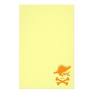 Halloween Pirate Stationery