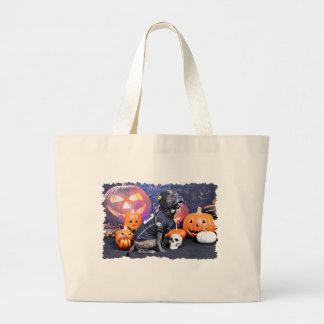 Halloween - Pitbull - Marley Tote Bag