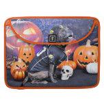Halloween - Pitbull - Marley MacBook Pro Sleeves