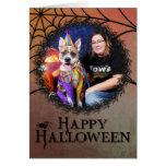 Halloween - Pitbull - Tyson Greeting Card