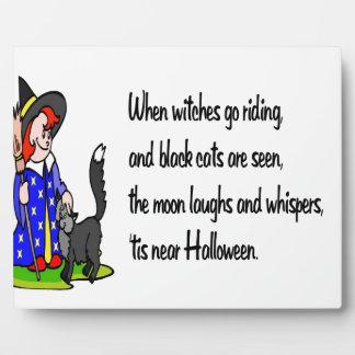 Halloween Placas