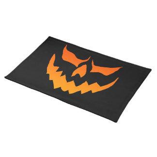 Halloween Placemats Mantel