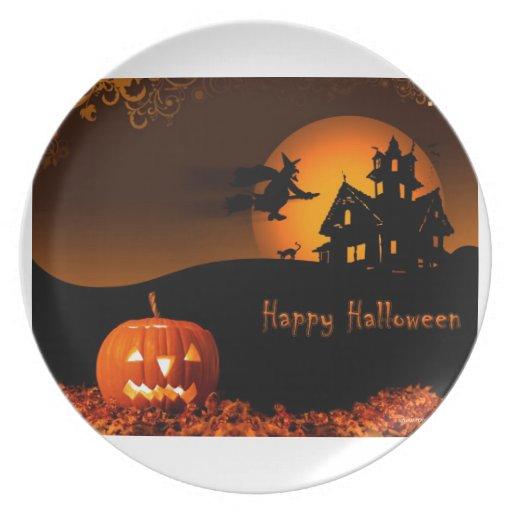 Halloween Plato Para Fiesta