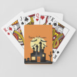"Halloween Playing Cards<br><div class=""desc"">Enjoy Halloween with this wonderful hand drawn art by digital artist C.A. Michaels!</div>"