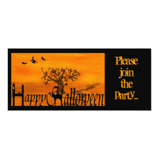 Halloween, Please join the party... Card