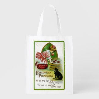 Hallowe'en Pleasures Grocery Bags