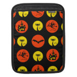Halloween Polka Dots Bats Black Cats Witches Gifts Sleeves For iPads