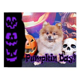 Halloween - Pomeranian - Simba Tarjetas Postales