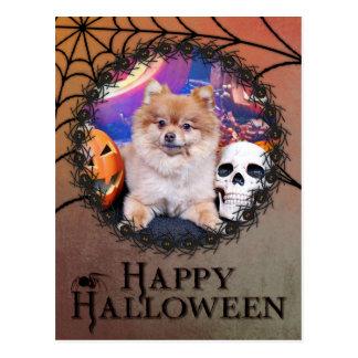 Halloween - Pomeranian - Simba Postales