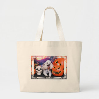 Halloween - Poodle - Dolly Canvas Bag