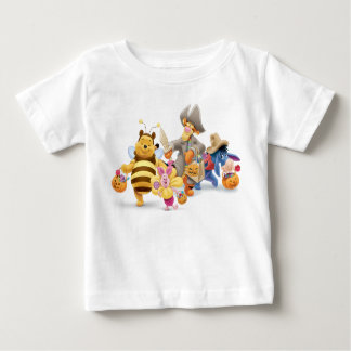 Halloween Pooh and Freinds Baby T-Shirt