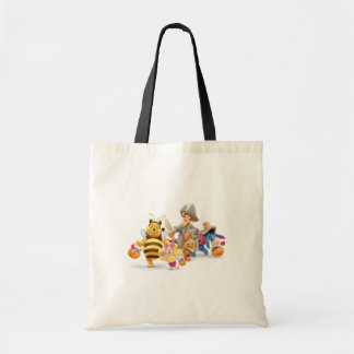 Halloween Pooh and Freinds Budget Tote Bag