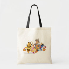 Halloween Pooh And Freinds Tote Bag at Zazzle