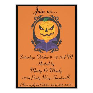 Halloween Portrait Invitation