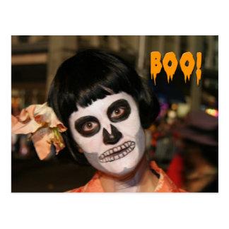 Halloween portrait postcard 4