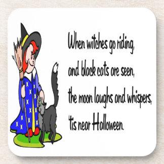 Halloween Posavasos