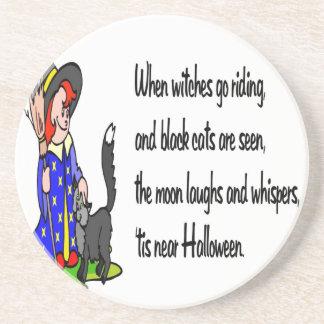 Halloween Posavasos Manualidades