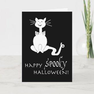 Halloween Posh Cat