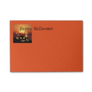 Halloween Themed Halloween Post It Notes
