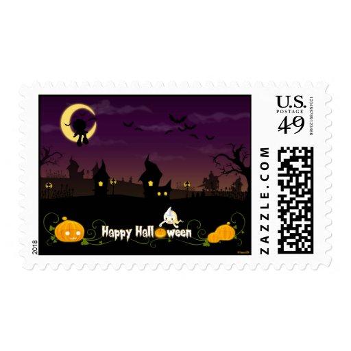 Halloween Postage