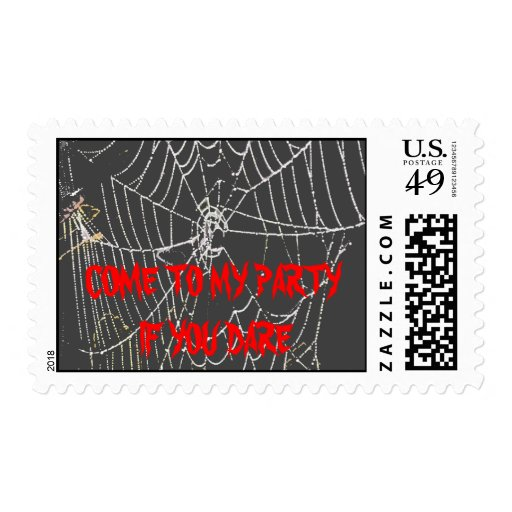 HALLOWEEN POSTAGE COME TO MY PARTY IF YOU DARE