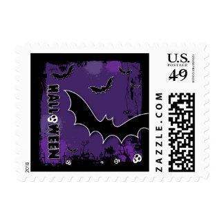 Halloween Postage Stamp