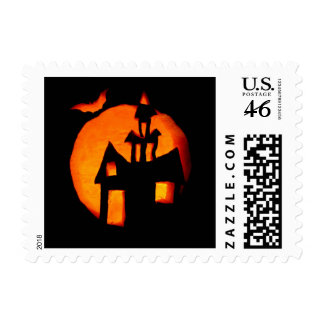 Halloween postage stamp 1