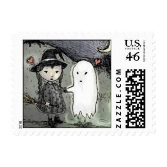 Halloween Postage Stamps stamp