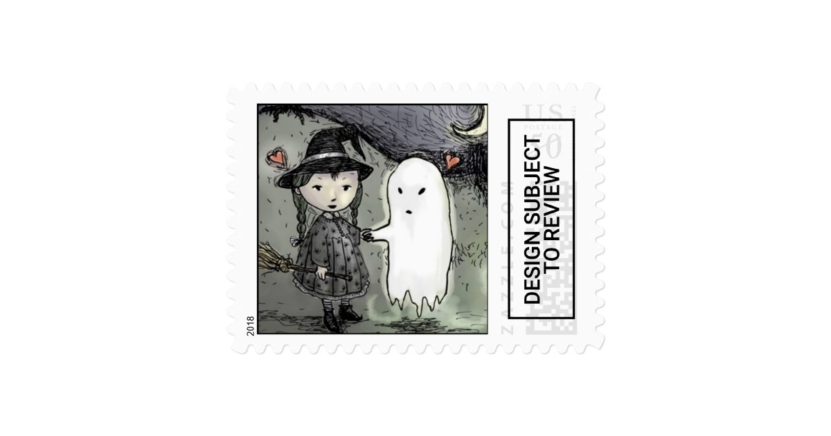 Halloween Postage Stamps Zazzle Com